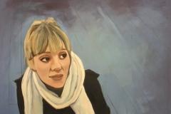 "Hamburg, acrylic on canvas, 36x48"""